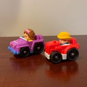 Little People Cars - Set of Two
